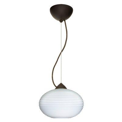 Pape 1-Light Globe Pendant Finish: Brushed Bronze