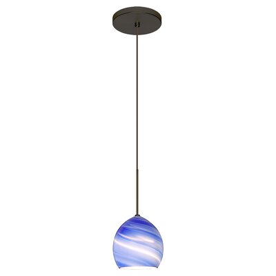 Sprite 1-Light Mini Pendant Finish: Brushed Bronze