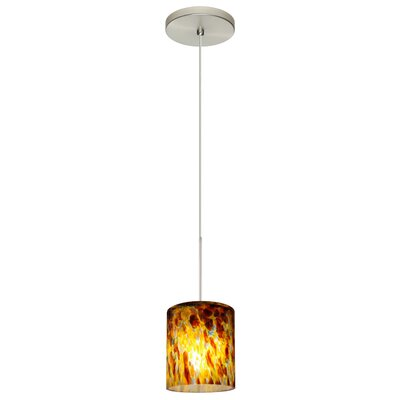 Falla 1-Light Mini Pendant Finish: Satin Nickel