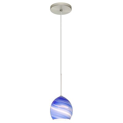 Sprite 1-Light Mini Pendant Finish: Satin Nickel