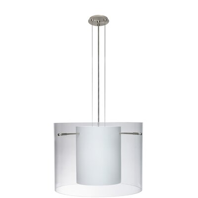Pahu 3-Light Mini Pendant Size: 11.75