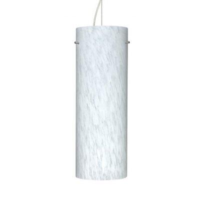 Tondo 1-Light Pendant Size: 17.75 H x 6.25 W x 6.25 D