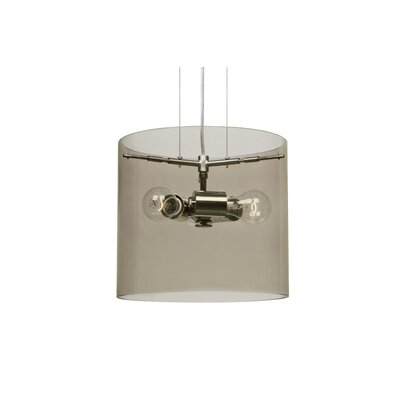 Pahu 3-Light Mini Pendant Finish: Satin Nickel, Size: 10.63 H x 11.75 W x 11.75 D