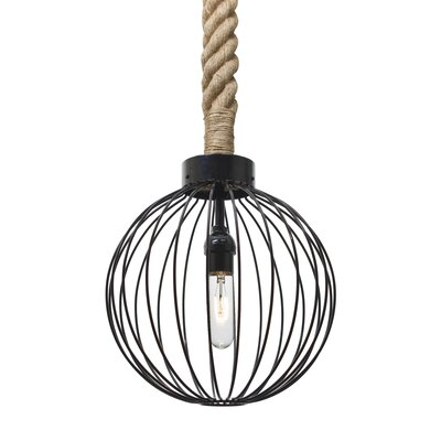 Sultana 1-Light Rope Mini Pendant