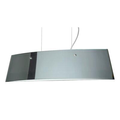 Silhouette 3-Light Kitchen Island Pendant Finish: Polished Nickel