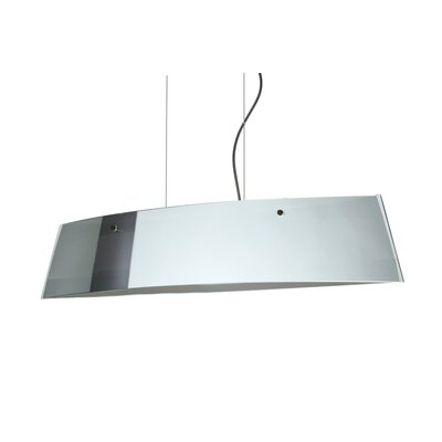 Silhouette 4-Light Kitchen Island Pendant Finish: Brushed Bronze