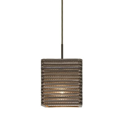 Mortola 1-Light Mini Pendant Finish: Bronze