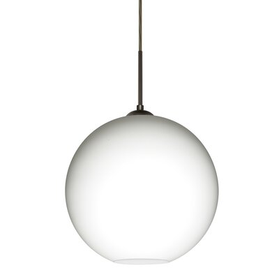 Speth Cord 1-Light Globe Pendant Base Finish: Bronze, Size: 13.25 H x 13.75 W x 13.75 D