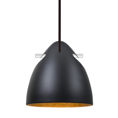 Spillane Stem 1-Light Mini Pendant Finish: Bronze