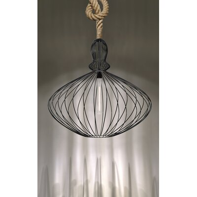 Sperber Rope 1-Light Foyer Pendant