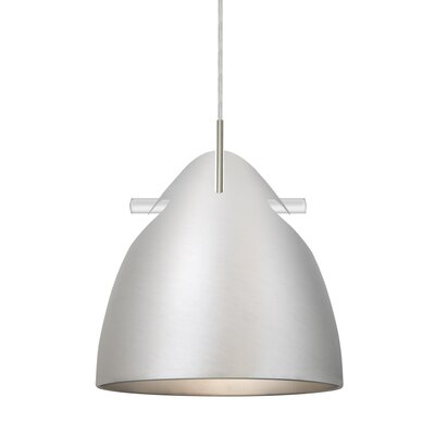 Spillane Cord 1-Light Mini Pendant Finish: Satin Nickel