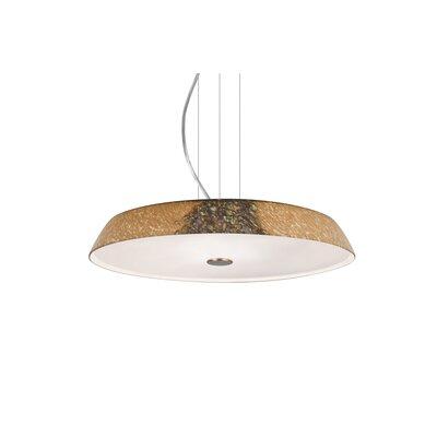 Speier Modern Round Suspension 1-Light LED Inverted Pendant Finish: Satin Nickel