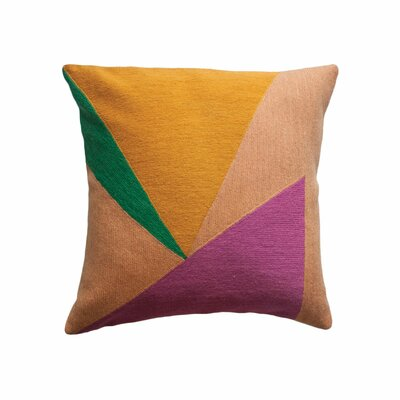 Jalen Triangles Throw Pillow