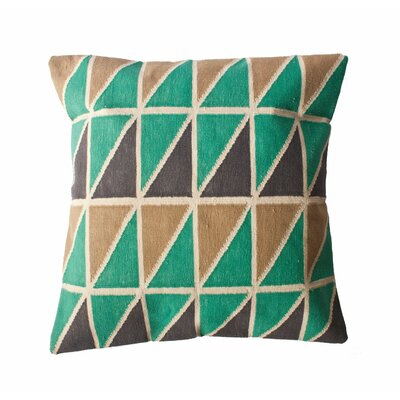 Mee Triangle Throw Pillow