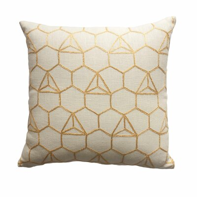 Benny Hexagon Throw Pillow