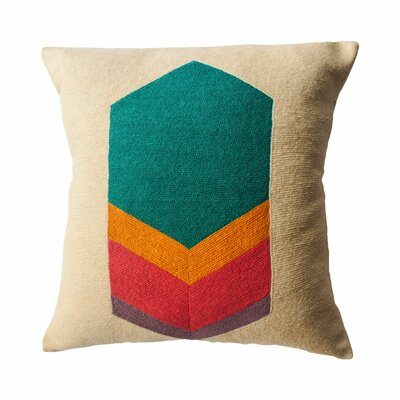 Turner Technicolor Hexagon Throw Pillow