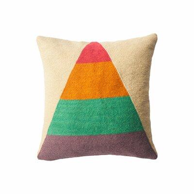 Turner Technicolor Triangle Throw Pillow
