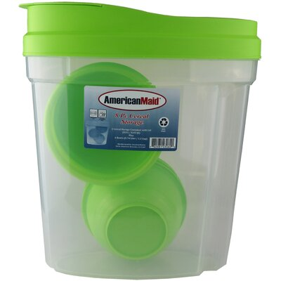 Cereal Dispenser P-03060- Green