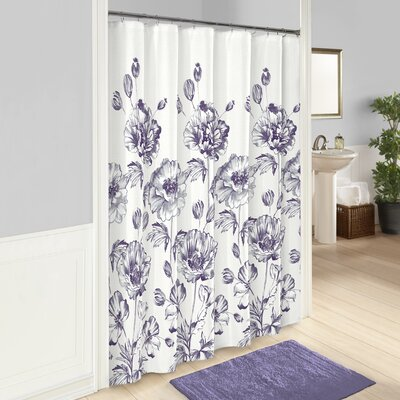Amiya 100% Cotton Shower Curtain