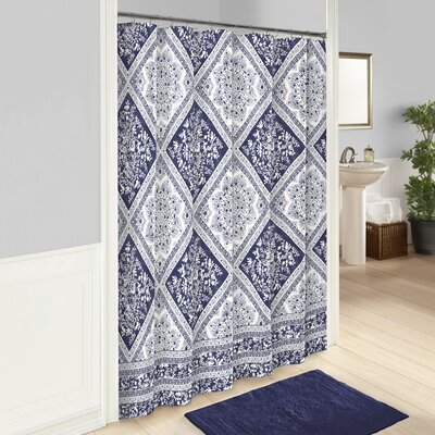 Belue 100% Cotton Shower Curtain