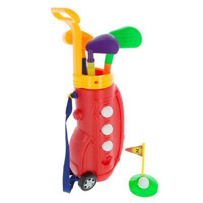 10 Pieces Toddler Toy Golf Set M350031