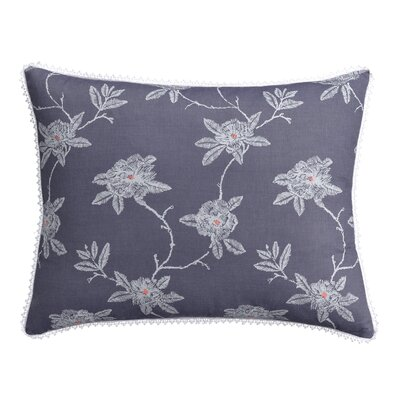 Sketch Floral Sham Size: King