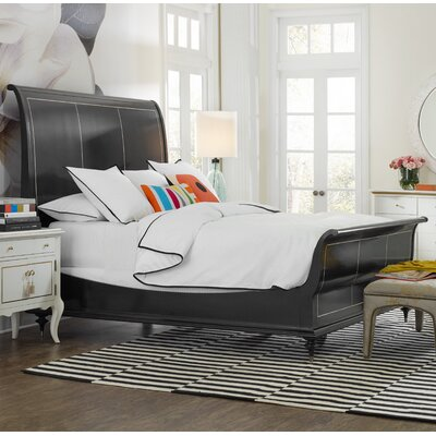 Twin Peak Sleigh Bed Size: California King