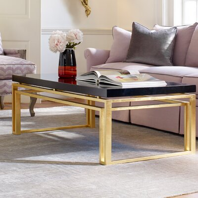 Serendipity Coffee Table Top Finish: Black