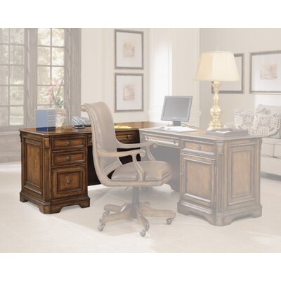 Brookhaven 30.5 H x 68.25 W Left Pedestal Desk