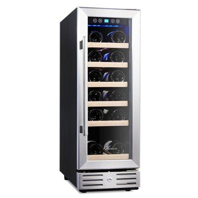 18 Bottle Single Zone Built-In / Freestanding Wine Refrigerator KRC-18SZB