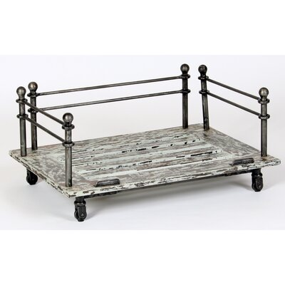 Industrial Cast Iron Dog Bed Size: Medium (35 L x 26.5 W)