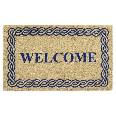 Welcome Rope Coir Doormat