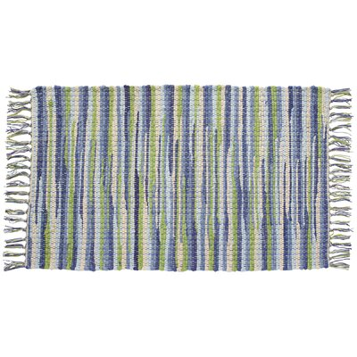 Seabreeze Hand-Woven Green/Blue Area Rug