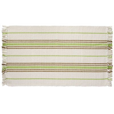 Weston Hand-Woven Green/Brown Area Rug