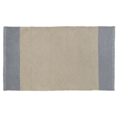 Linden Hand-Woven Beige/Gray Indoor/Outdoor Area Rug Rug Size: 19 x 210
