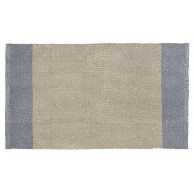 Linden Hand-Woven Beige/Gray Indoor/Outdoor Area Rug Rug Size: Rectangle 2 x 34
