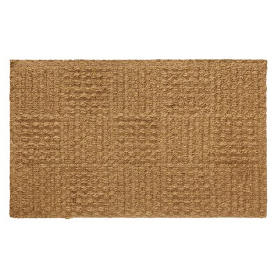 Coir Checkerboard Doormat