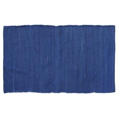 Brighton Hand-Woven Cadet Blue Area Rug