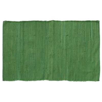 Brighton Hand-Woven Forest Green Area Rug