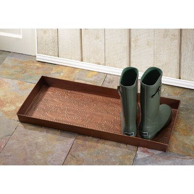 Classic Scroll Boot Tray