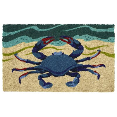 Oceanside Crab Coir Doormat