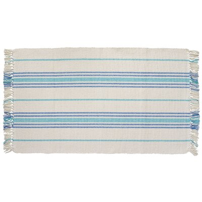 Weston Hand-Woven Blue/Turquoise Area Rug
