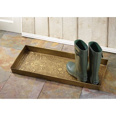 Star Medallion Boot Tray