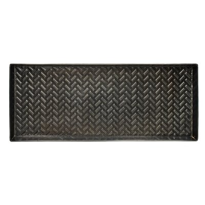 Chevron Zinc Boot Tray