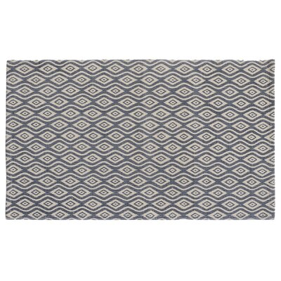 Waves Indigo Area Rug