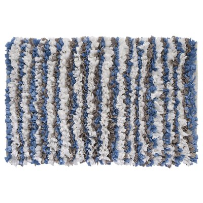 Tissue Shag Gray/Blue Area Rug
