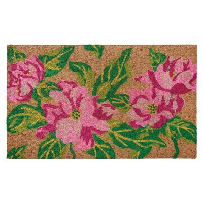 Low Profile Flatweave Magnolia Doormat