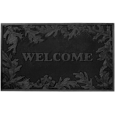 Pin Dot Oak Leaves Doormat
