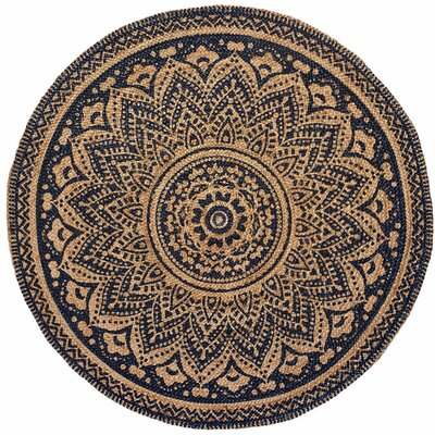 Isabella Midnight Blue Area Rug
