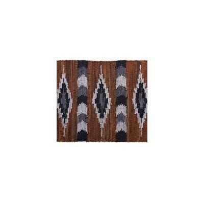 Snake River Canyon Hand Woven Brown Area Rug Rug Size: 23 x 39